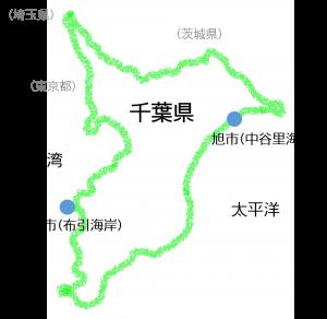 調査地点図